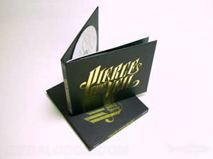 cd Digi book manufactruing hub gold foil stamping